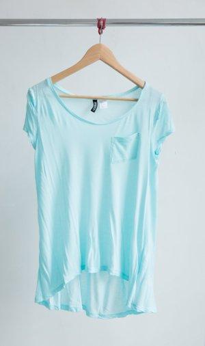 H&M T-shirt - babyblau