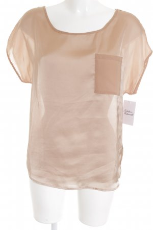 H&M T-Shirt camel-beige Casual-Look