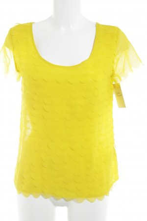 H&M T-Shirt dunkelgelb Casual-Look