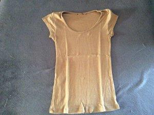 H&M Camiseta marrón grisáceo-marrón claro