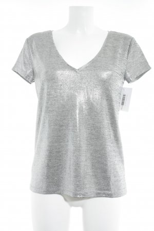H&M T-Shirt grau Casual-Look