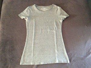 H&M Camiseta color plata Algodón