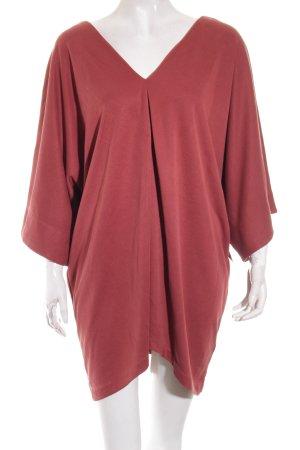 H&M T-Shirt karminrot Street-Fashion-Look