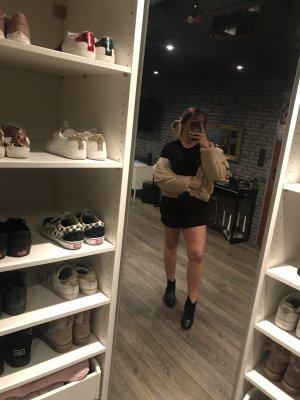 H&M T-Shirt Kleid schwarz