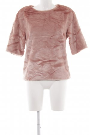 H&M T-Shirt mehrfarbig Kuschel-Optik