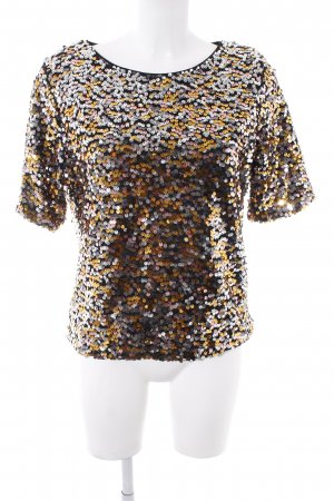 H&M T-Shirt mehrfarbig Party-Look