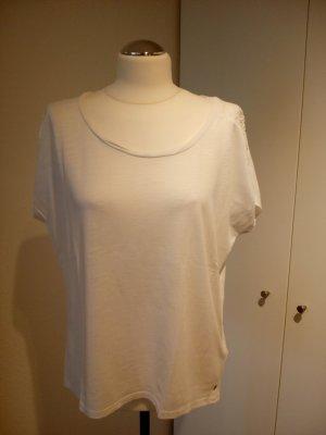 H&M T-shirt mit Häkeleinsätzen