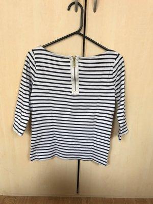 H&M T-Shirt mit Streifen, Gr.S