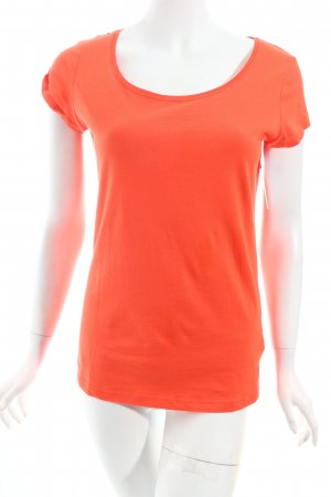 H&M T-Shirt neonorange Casual-Look
