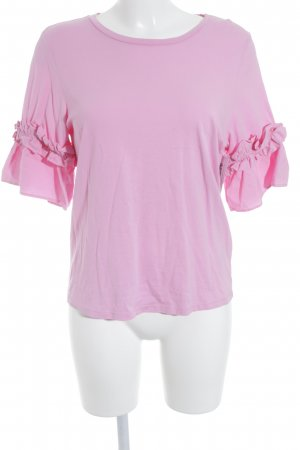 H&M T-Shirt pink-neonpink Beach-Look
