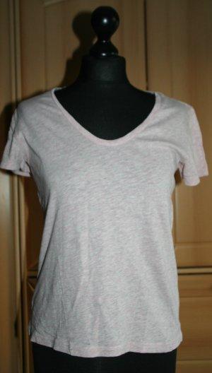 H&M T-Shirt rosa meliert Gr. S/M