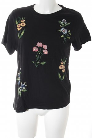 H&M T-Shirt schwarz klassischer Stil
