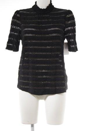 H&M T-Shirt schwarz schlichter Stil