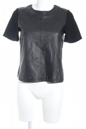 H&M T-Shirt schwarz Street-Fashion-Look