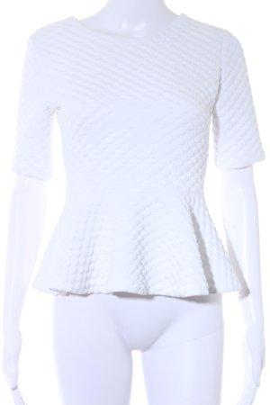 H&M T-Shirt weiß Casual-Look