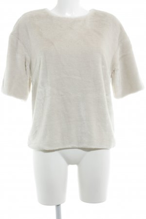 H&M T-shirt wolwit casual uitstraling