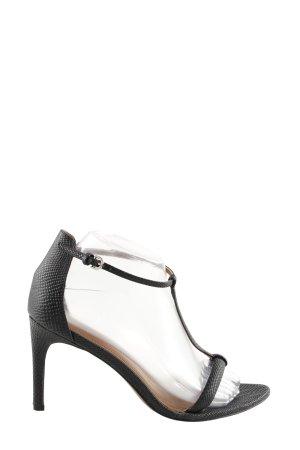H&M Escarpin Salomé noir style d'affaires