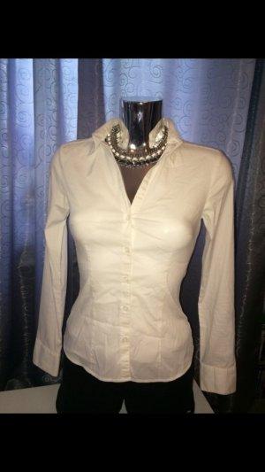 H&M Tailiierte Business Bluse Gr. 34 / XS