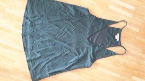 H&M Tanktop Babydoll waldgrün xs 34 neu nie getragen  trend