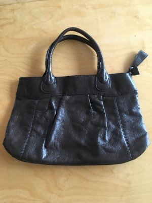 H&M Carry Bag black brown-dark brown
