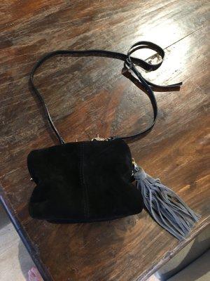 H&M Tasche Handtasche Wildleder Fransen Neu
