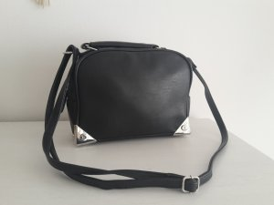h&m Tasche Mini Shoulder Bag Schwarz/silber zara cos stories