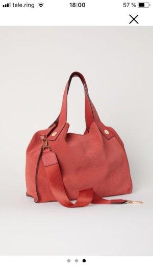 H&M Tasche rostrot