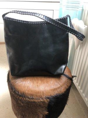 H&M Tasche schwarz