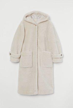 H&M Teddymantel faux fur