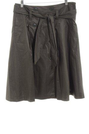 H&M Cirkelrok zwart simpele stijl