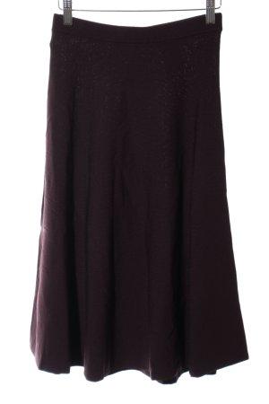H&M Jupe corolle brun style décontracté