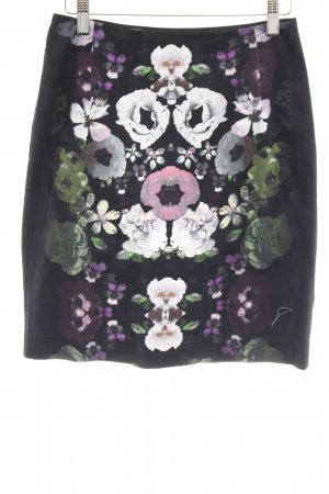H&M Circle Skirt flower pattern casual look