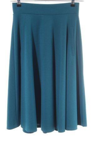 H&M Jupe corolle bleu style décontracté