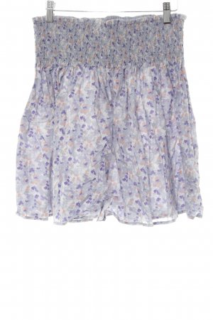H&M Circle Skirt spots-of-color pattern casual look