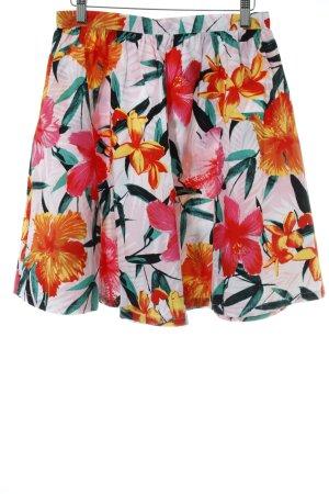 H&M Tellerrock florales Muster extravaganter Stil