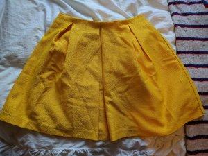 H&M Tellerrock in gelb