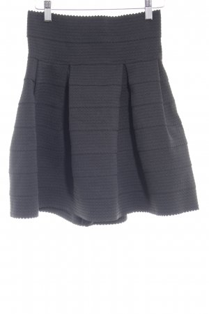H&M Circle Skirt black street-fashion look