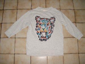 H&M Tiger Sweatshirt Gr. 36 Oversize