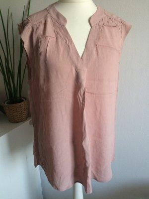 H&M Top 36 S neu Volant puder rosa Hemd Sommer Frühling