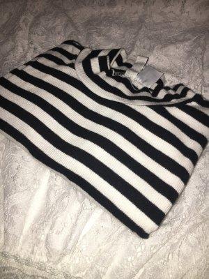 H&M Divided Colshirt zwart-wit