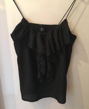 H&M Blusa nero-oro