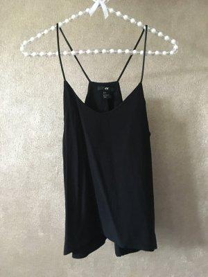 H&M Camisole zwart Viscose