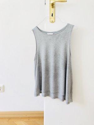 H&M Divided Haut basique gris-gris clair