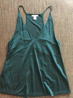 H&M Top in waldgrün Größe 36