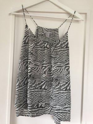 H&M Top in zebra-print