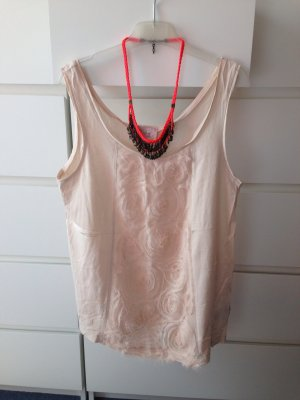 H&M Top mit Rosendetail rose