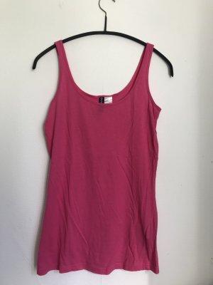 H&M Top pink Tanktop Shirt Pink S 36