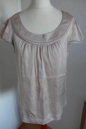 H&M Top Shirt Oberteil Bluse nude Gr.36