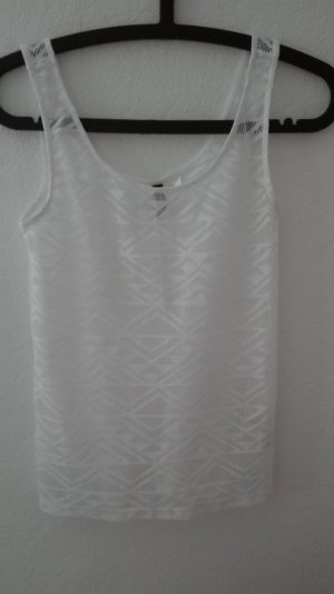 H&M Top Spitze lace Netz