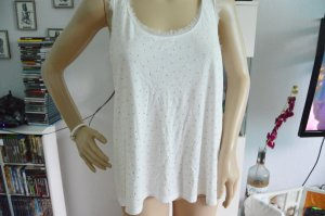 H&M Top white-gold-colored
